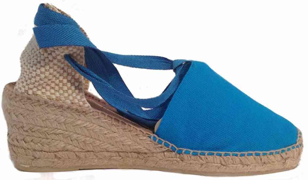 zapatos de separación 3a51e 5c9c7 ALPARGATA VALENCIANA CUÑA CAMPESINA COLORES FASHION - Venta ...