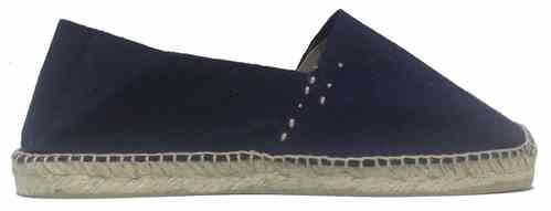 CLASSIC FLAT, WITH JUTE YARN AND OVERLOCK - DARK BLUE