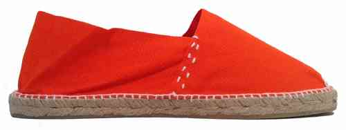 CLASSIC FLAT ESPADRILLE - ORANGE